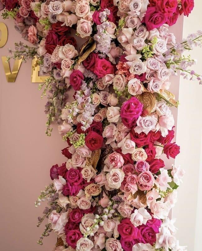 flowers aura design