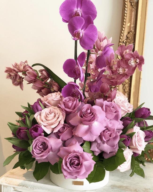 arrangement flowers aura design