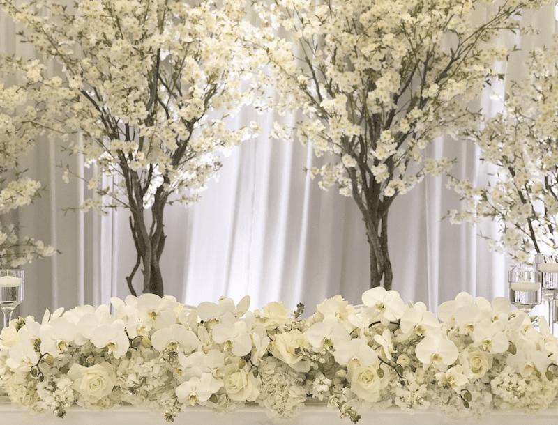 honour table flower